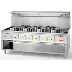 Gas Wok 7 brännare 129 kW – CHINA/7L