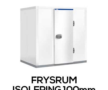 Frysrum - isolering 100 mm