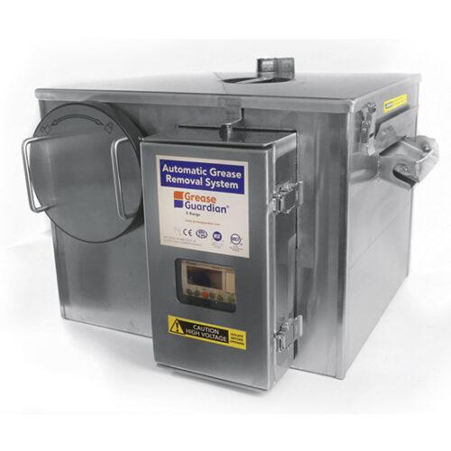 Fettavskiljare Underbänksmodell  med rengöringscykel och timer och flödeshastighet 0,5 liter / se