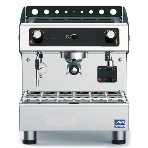Espressomaskin, halvautomatisk, 1 grupp, 3 liter