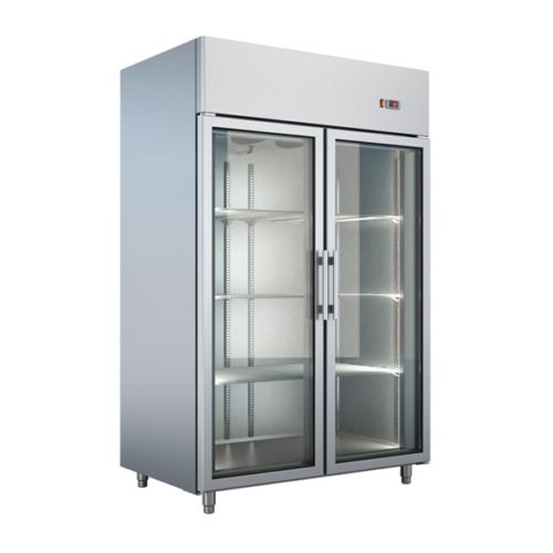Frysskåp med glasdörr 1232 liter – UBF-137 1370 x 820 x 2070
