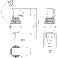 BLANDARE VARIMIXER/BJÖRN AR80 VIT VL-1S