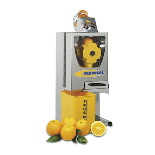 Juicepress i automatisk, 10-12 frukter / min.