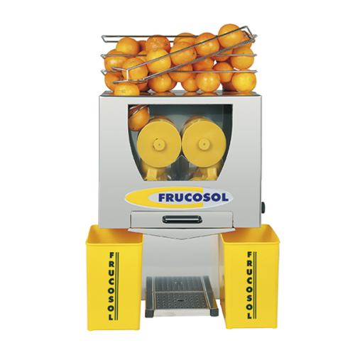 Juicepress i automatisk, 20-25 frukter / min.