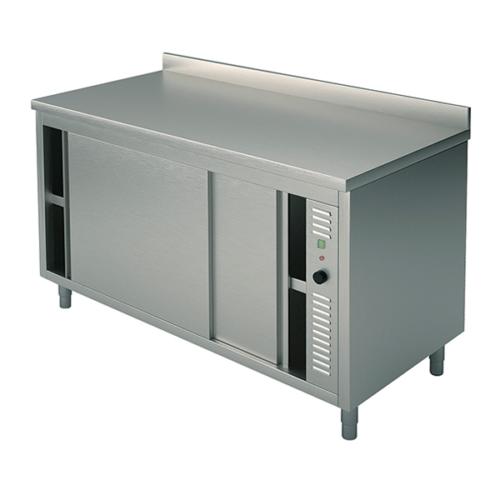 Värmeskåp bänkmodel 600 Djup, olika storlekar med kant
