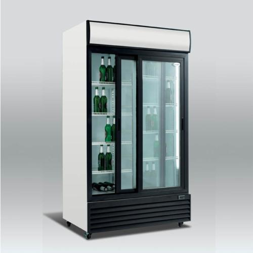 Exponeringskylskåp-med-glassdörr-SD1001SL-Zilox
