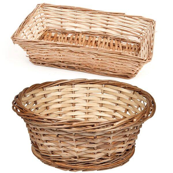 Brödkorgar av trä