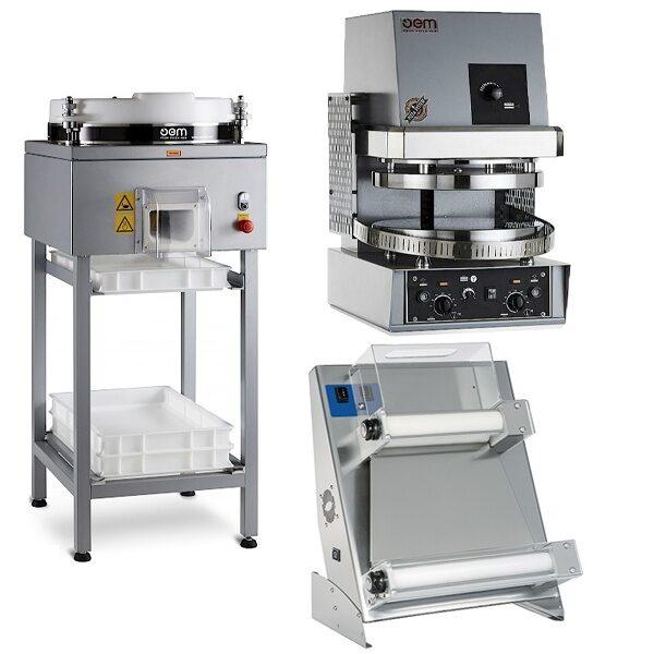 Pizza Berednings Maskiner